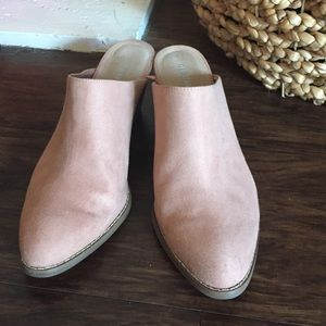 Old Navy Suede Mules